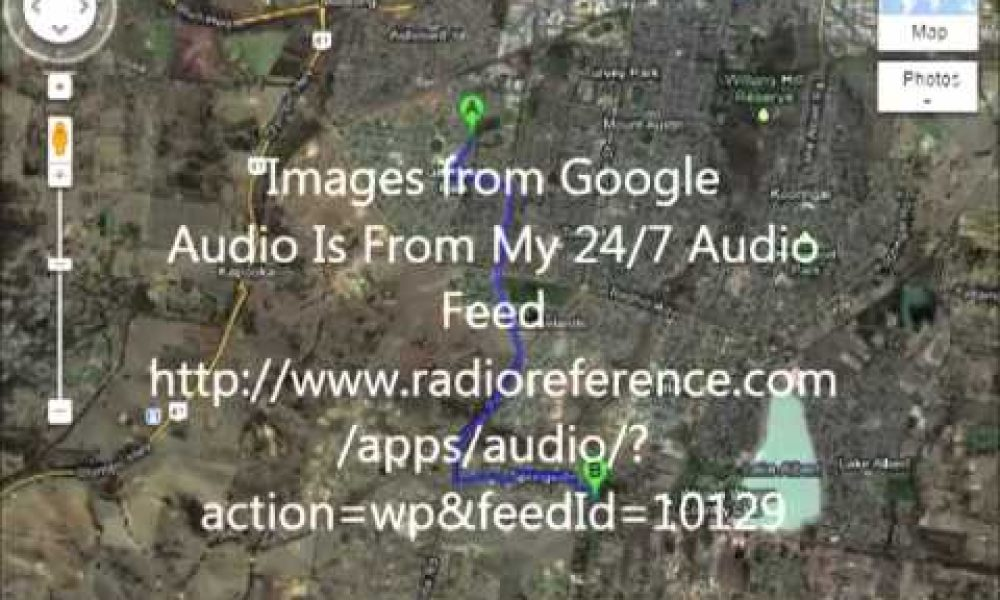NSW Police Pursuit Police Radio Recording Wagga Wagga 8th September 2012