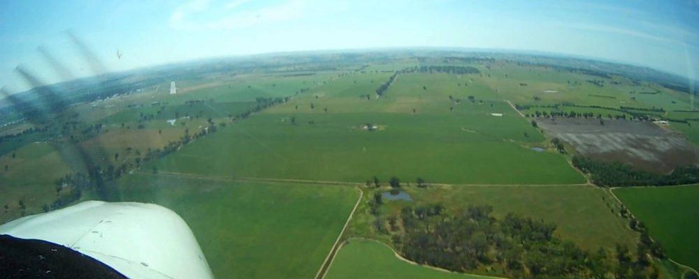 Landing at Wagga Wagga YSWG.