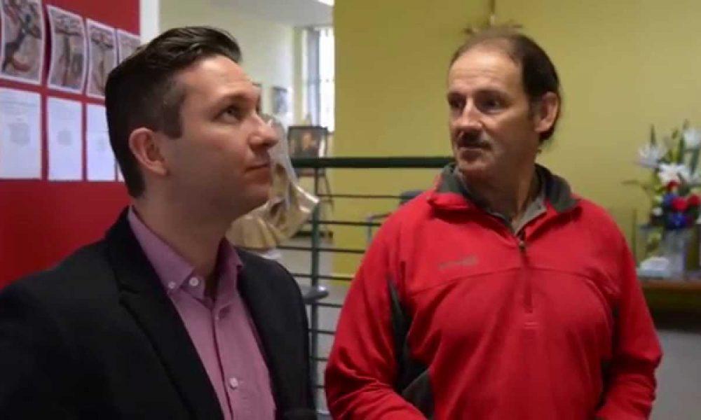 Adam Drummond Kildare Skit for Truman Carroll WaggaWagga.TV Interview