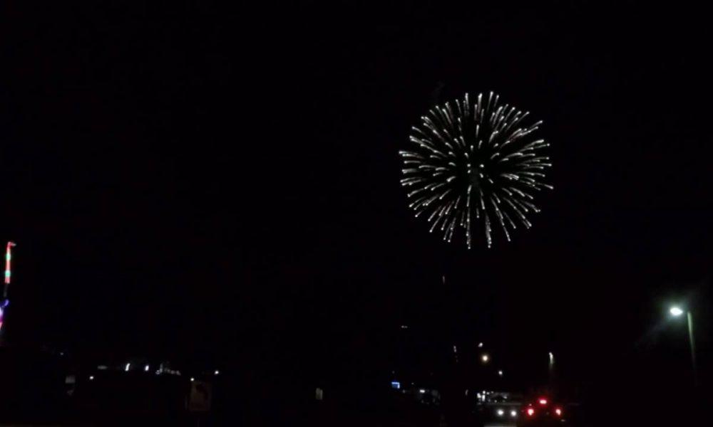 Fireworks at Wagga Wagga Show 2016