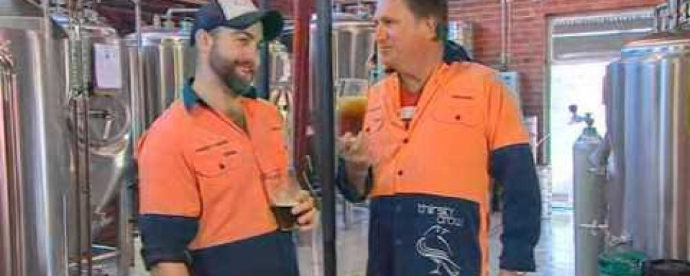 What's Up Downunder visits Wagga Wagga's Thirsty Crow Brewery