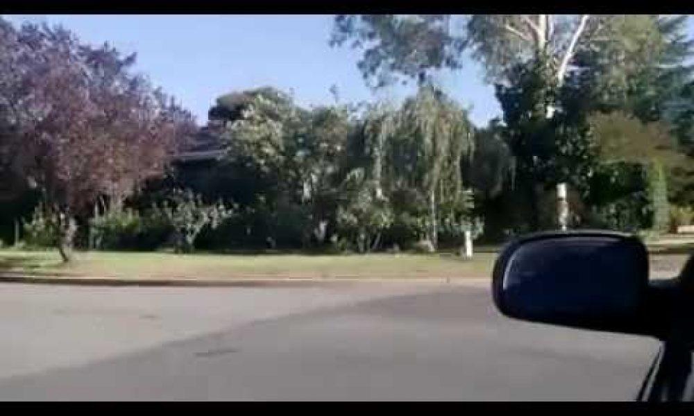 Mad Drive down Bourke St, Wagga Wagga