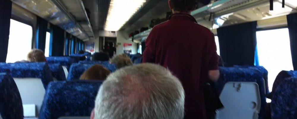 Train from Wagga Wagga to Sydney