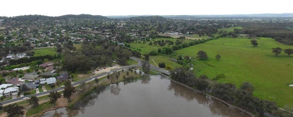 Lake Albert Wagga Wagga – Drone Footage