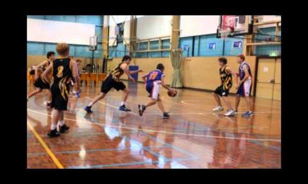Wagga U14 Basketball in Albury NSW Australia May 2012