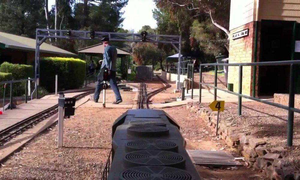 Wagga Wagga Miniature Railway – lower loop (5″ | 7 1/4″) Drivers Eye