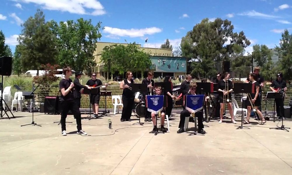 Matthew Barron and Wagga Wagga High School Stage Band – The Letter