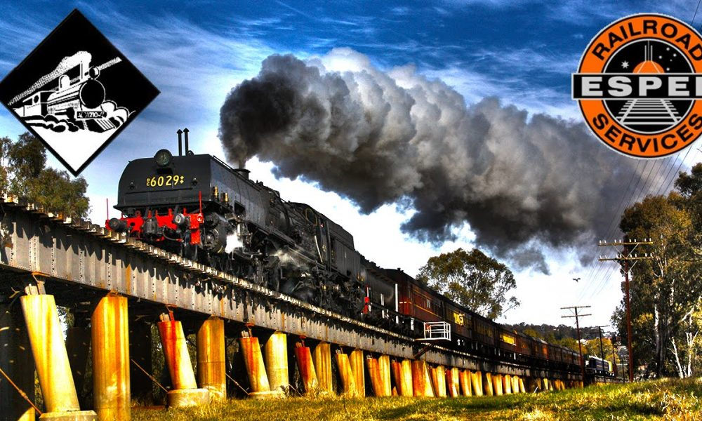 Beyer-Garratt 6029 Wagga Shuttles – Steam Trains Australia