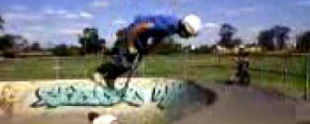 Willard Lloyd scooter backflip wagga skatepark