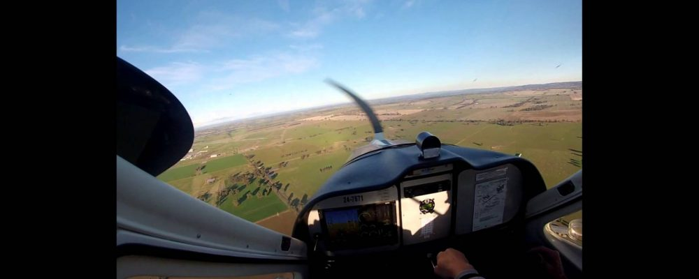 A full circuit of Wagga airport by Craig