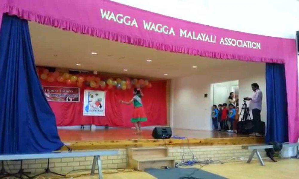 Dinkle dance wagga onam 2015