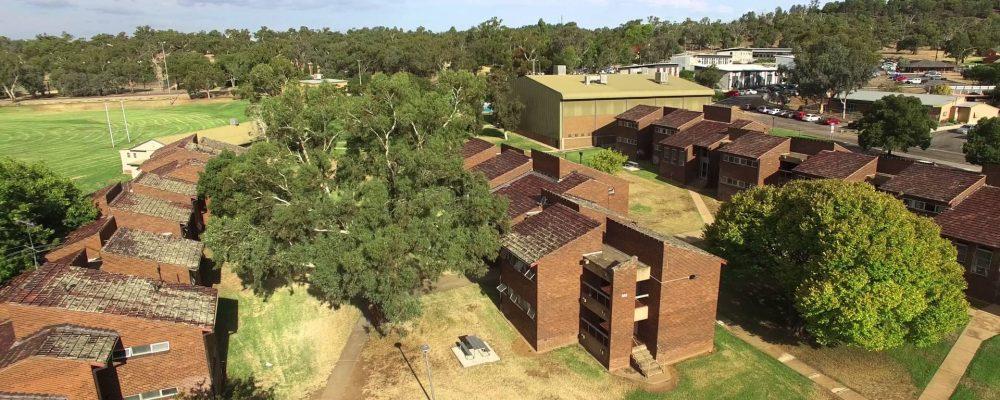 Bangala Village CSU Wagga Drone Flight