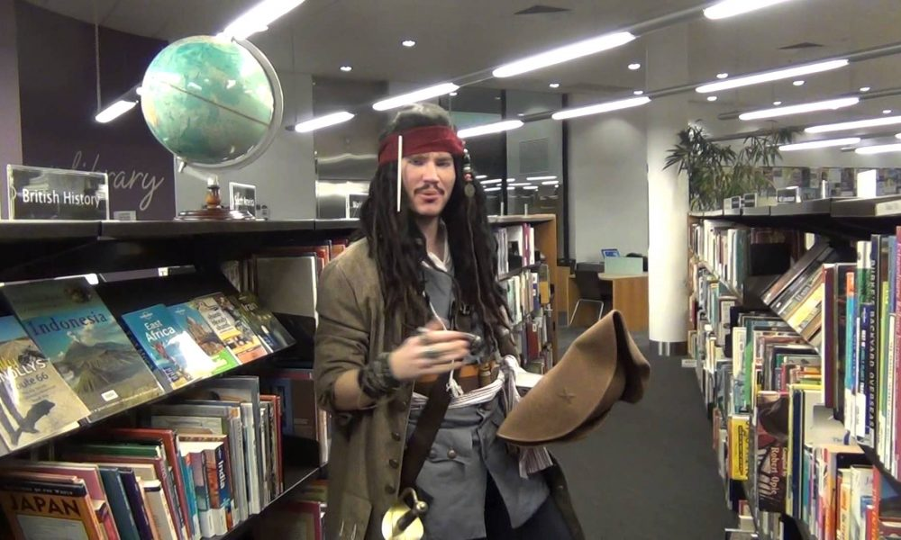 Jack loves Wagga Wagga City Library