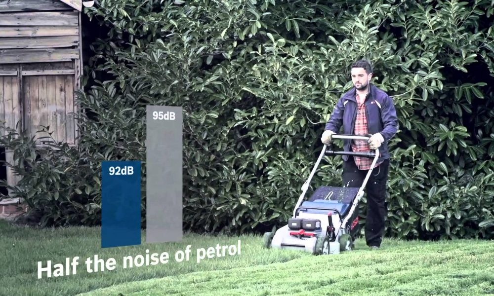 Bosch Professional Cordless Garden Tools – Lawnmowers