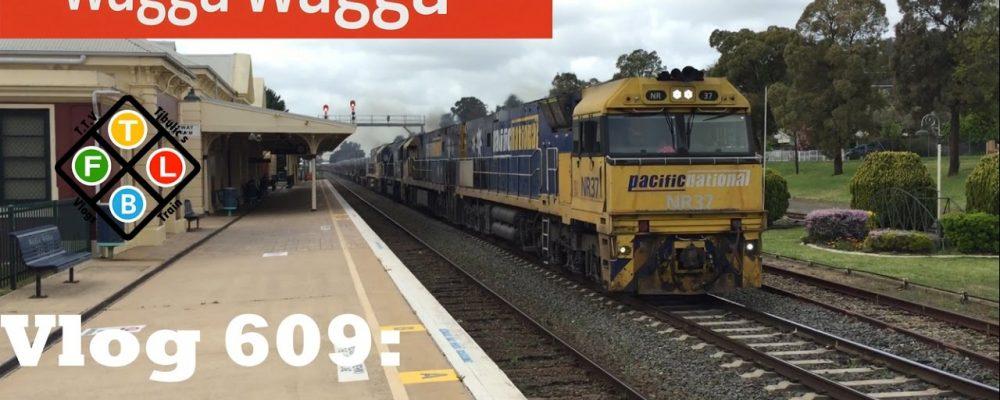 Tjbulic's Trains' Vlogs 609: Wagga Wagga