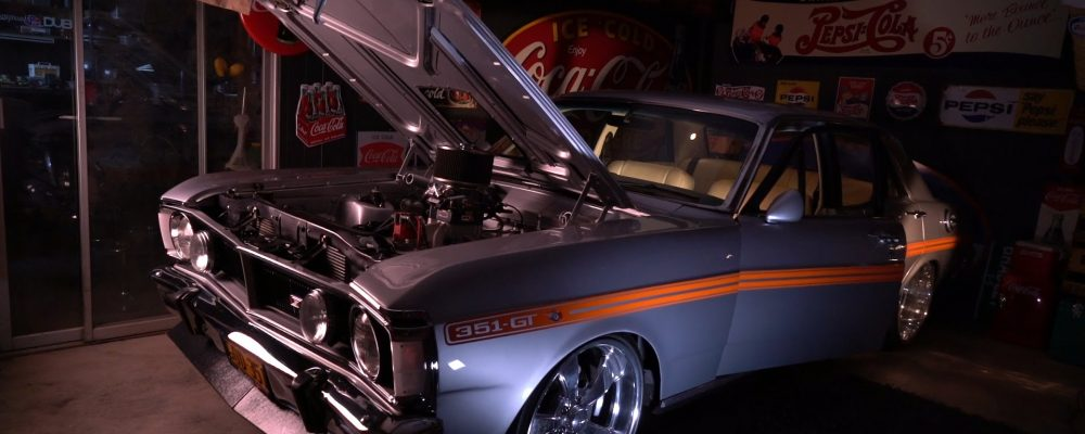 INSIDE GARAGE: Brad's '71 XY Ford Falcon