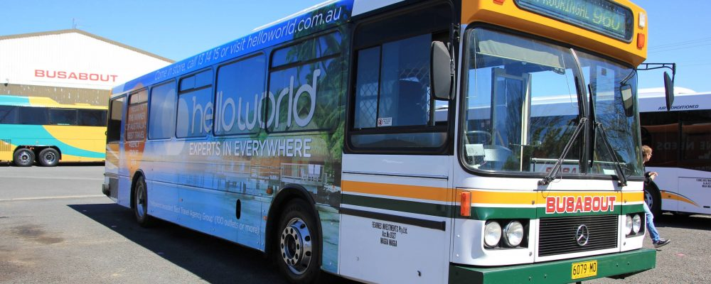 Busabout Wagga Wagga Tour: 6079MO – MAN SL202 (ZF/Volgren)