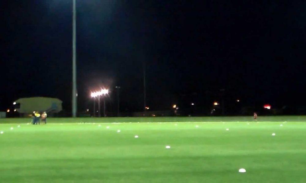 Robertson Oval Lights Wagga Wagga