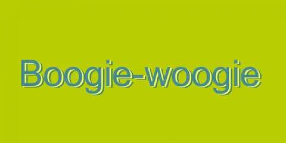 How to Pronounce Boogie-woogie