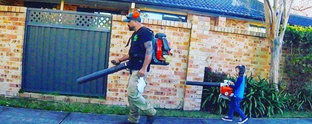 Lawn Care Vlogger #55 – Zero Turn Mowing + Father & Son Shrub Trimming Stihl KM130R
