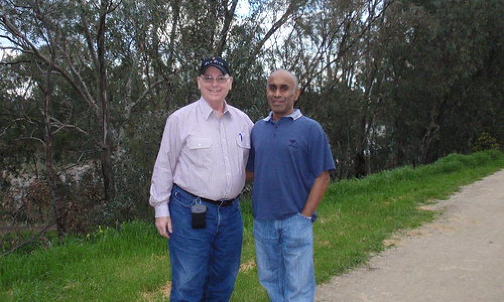P8230078 – With Parthi in Wagga Wagga, NSW