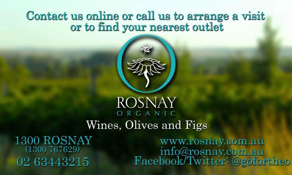 Rosnay Organic Wines Promo