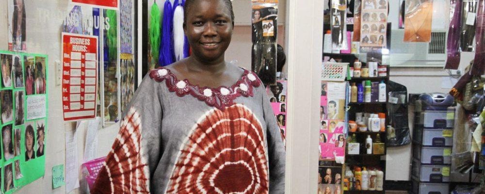 Wagga Wagga's African hair salon