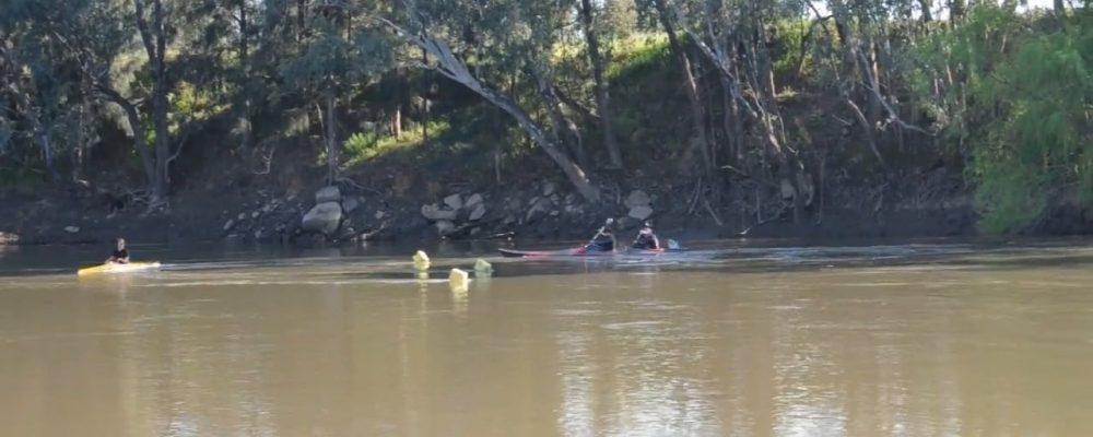 Marathon turns on moving water