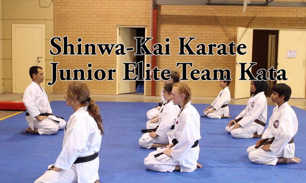 Shinwa-Kai Karate Junior Elite Kata Team
