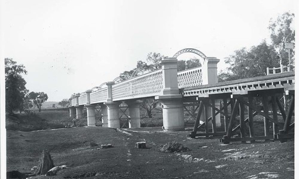 Railway bridge at Wagga Wagga