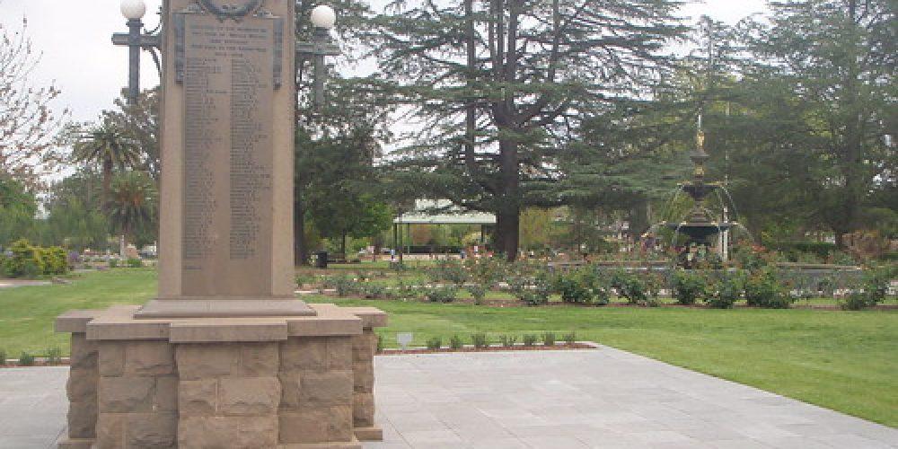 memorial to those fallen in war