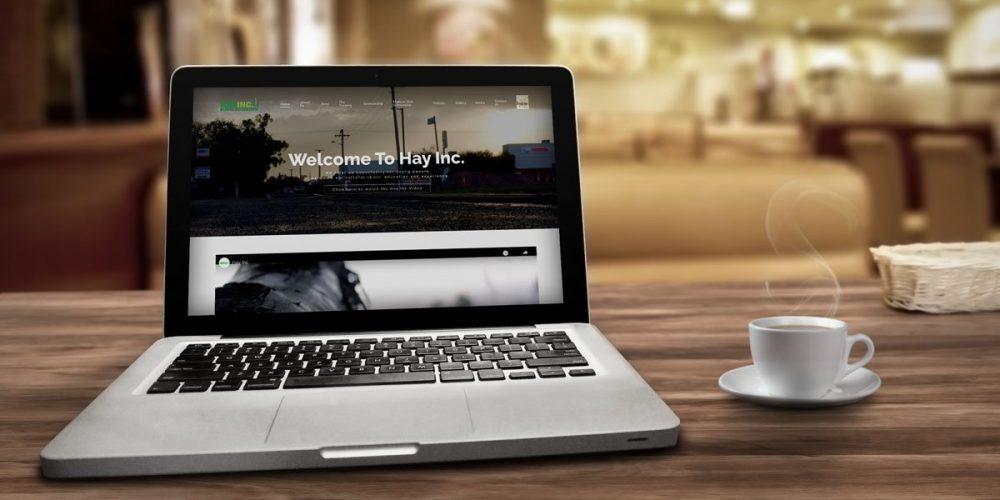 Updated website for Hay Inc